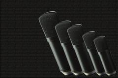 五condensor mic 免版税图库摄影