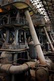 Condensorsida av Holly Steam Pumps royaltyfria bilder