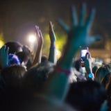Condert музыки Стоковая Фотография