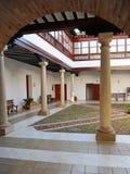 Condes de Valparaiso Palace, Almagro, Spagna Fotografia Stock
