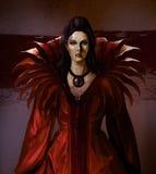 Condesa del vampiro Foto de archivo libre de regalías