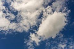 Condição de clima nublado com nuvens de cúmulo Imagem de Stock