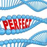 Condição do bem-estar da saúde hereditária perfeita do ADN dos genes boa ilustração stock