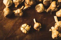 Condicalo con aglio! Fotografie Stock Libere da Diritti