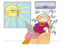 Condicionador de ar -7 Fotos de Stock Royalty Free