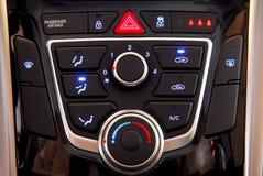 Condicionador de ar automático do carro Imagens de Stock Royalty Free