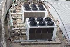 Condicionador de ar gigante Fotografia de Stock