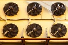 Condicionador de ar industrial Fotos de Stock Royalty Free