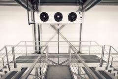 Condicionador de ar industrial Fotografia de Stock