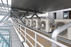 Condicionadores de ar Fotografia de Stock