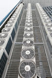 Condicionadores de ar centrais Imagens de Stock Royalty Free