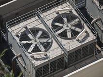Condicionadores de ar comerciais grandes fotos de stock royalty free