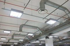 Condicionamento de ar industrial Foto de Stock
