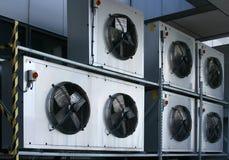 Condicionamento de ar industrial Fotografia de Stock
