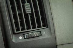 Condicionamento de ar sujo do carro conceito do Healt-cuidado Fotografia de Stock