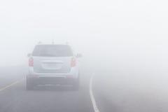 Condiciones de conducción peligrosas Foto de archivo libre de regalías