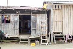Condiciones de vida pobres Foto de archivo libre de regalías
