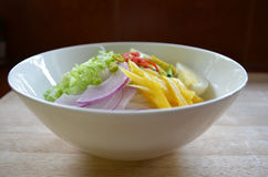 Condiment. For Penang Laksa, Malaysian food Stock Photo