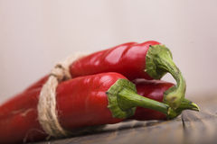 Condiment ripe red pepper Royalty Free Stock Image