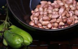 Condimenta típico de Indonesia antes de cocinado Fotografía de archivo libre de regalías