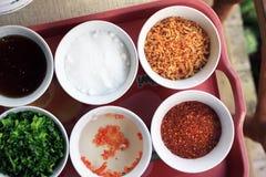 Condimentación de Thais Foto de archivo libre de regalías
