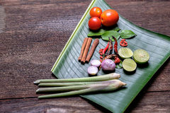 Condimento asiatico Fotografie Stock