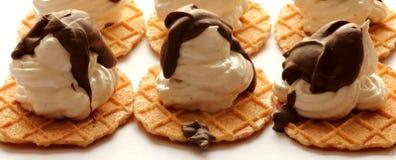 Condimento del cioccolato del briciolo dei biscotti della meringa Fotografia Stock