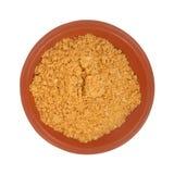 Condimento del taco in piccola ciotola rossa Fotografia Stock