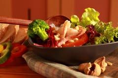 Condimento dell'insalata. Immagini Stock