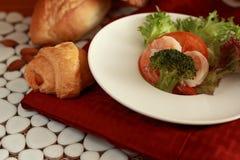 Condimento dell'insalata. Fotografia Stock
