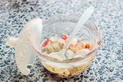 Condimento, peperoncino rosso ed aceto tailandesi Fotografia Stock Libera da Diritti