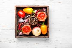 Condimento piccante, salsa fotografia stock libera da diritti
