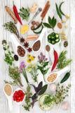 Condimento sano de la comida fotos de archivo