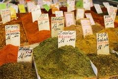 Condimentos culinarios fotografía de archivo