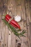Condimentos picantes de las verduras Foto de archivo