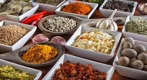 condiments Стоковые Фотографии RF