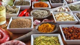 condiments Photo stock