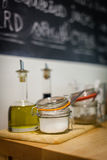 Condiments and additives Royalty Free Stock Photography