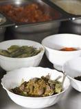 Condiments de nourriture Photographie stock libre de droits