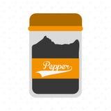Condiments icon design Stock Photos