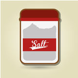 Condiments icon design Royalty Free Stock Photo