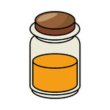 Condiments ingrediants cooking icon. Vector illustration design Stock Photos