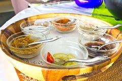 Condiments kumberlandy Zdjęcie Stock