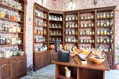 Condiments w sklepie Zdjęcie Stock