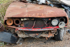 The condition of the car was demolished Royalty Free Stock Image