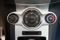 Conditioner and air flow control. In a modern car stock photos