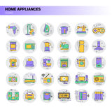 Conditioner Household House Heating Icon Kitchen Devices Housekeeping Collection Royalty Free Stock Images