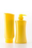 conditioner shampoo bottle Royalty Free Stock Photo