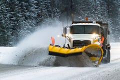 conditions pilotant l'hiver image stock