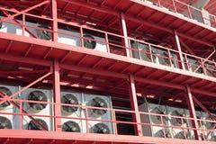 Condizionamento d'aria centrale Fotografie Stock